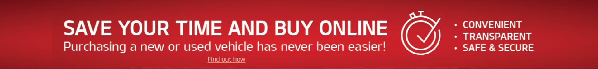Buy Online Banner
